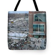 After A Winter Packers Game Tote Bag