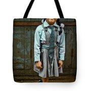 After School Pose Tote Bag