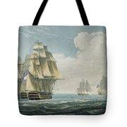 After The Battle Of Trafalgar Tote Bag