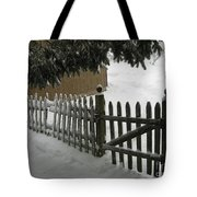 After The Blizzard Tote Bag