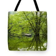 After The Rain On The Valley River Tote Bag