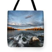 After The Rain - Square Tote Bag
