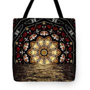 After The Rain Sunset Tote Bag