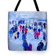 After The Run Tote Bag