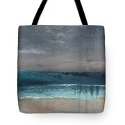 After The Storm- Abstract Beach Landscape Tote Bag
