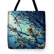 After The Storm In Blue Tote Bag