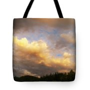 After The Storm -  Lake Arrowhead Tote Bag