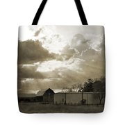 After The Storm On The Farm Tote Bag