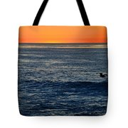 After The Sunset Glow In La Jolla Tote Bag