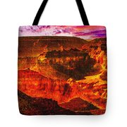 Afterglow Grand Canyon National Park Tote Bag
