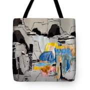 Afterimage - Palo Duro Canyon - Number Twelve Tote Bag