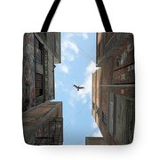 Afternoon Alley Tote Bag by Cynthia Decker