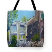 Afternoon At Carnton Plantation Tote Bag by Susan E Jones