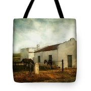 Afternoon At Lone Tree Ranch Tote Bag