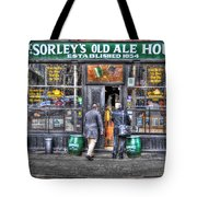 Afternoon At Mcsorley's Tote Bag