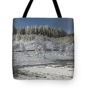Afternoon At Mud Volcano Area - Yellowstone National Park Tote Bag