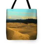 Afternoon At Oregon Dunes Tote Bag
