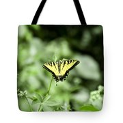 Afternoon Butterfly Tote Bag