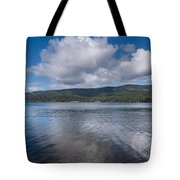 Afternoon Clouds Over Big Lagoon Tote Bag