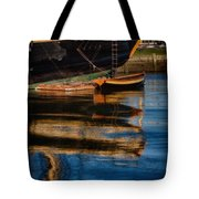 Afternoon Friendship  Reflection Tote Bag