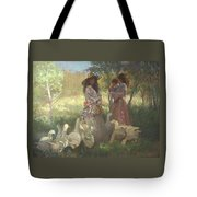 Afternoon Gathering Tote Bag