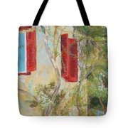 Afternoon In Athens Tote Bag