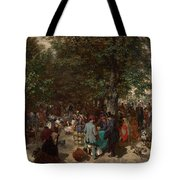 Afternoon In The Tuileries Gardens Tote Bag