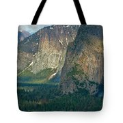 Afternoon In Yosemite Tote Bag