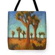 Afternoon Light At Joshua Tree Tote Bag