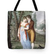 Afternoon Near St. Gervais, Engraved Tote Bag