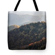 Afternoon On The Mountain Tote Bag