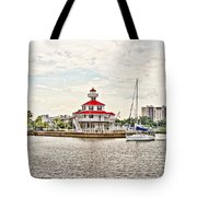 Afternoon On The Water - Hdr Tote Bag
