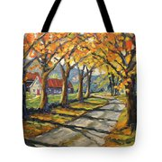 Afternoon Shadows By Prankearts Tote Bag