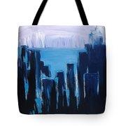 Afternoon Skyline Tote Bag