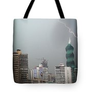 Afternoon Storm Tote Bag