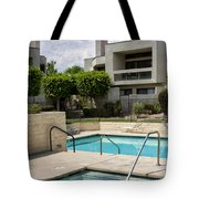 Afternoon Swim Palm Springs Tote Bag by William Dey