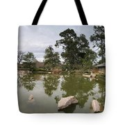 Afternoon Tea House Color Tote Bag