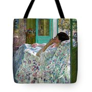 Afternoon Yellow Room Tote Bag