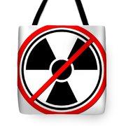 Against Atom Tote Bag