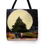 Against The Moon Tote Bag