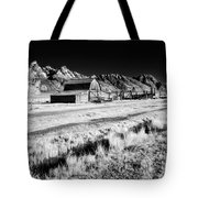 Against The Mountains Tote Bag