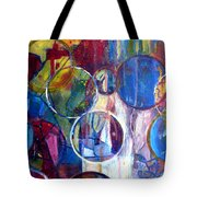 Against The Rain II Tote Bag