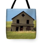 Against The Wind Abandoned Homestead Tote Bag