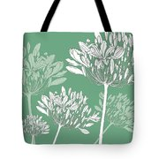Agapanthus Breeze Tote Bag
