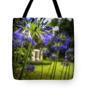 Agapanthus In The Garden Tote Bag