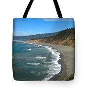 Agate Beach At Patricks Point Tote Bag by Adam Jewell
