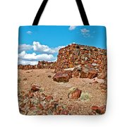 Agate House In Petrified Forest National Park-arizona  Tote Bag