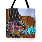 Agave Guitar Tote Bag