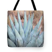 Agave Plant In The Chisos Mountains Tote Bag