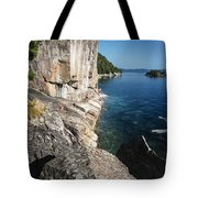 Agawa Pictographs Tote Bag